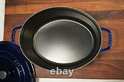 Staub Cast Iron 7-qt Oval Cocotte Used