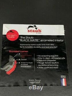 Staub Cast Iron Cocotte Oval 12.75 Qt Graphite Grey