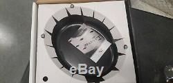 Staub Cast-Iron Coq Au Vin Oval Dutch Oven Grenadine 5.75-Quart Rooster Knob New