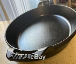 Staub Cast Iron Oval 2.5qt. Gratin Baking Dish from Staub