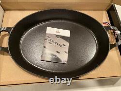 Staub Cast Iron Oval Oven Dish Dark Blue NEW 4 Qt