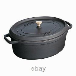Staub Cocotte Casserole 23 CM Oval Pot Cooking Pots Cookware Stewing Pan