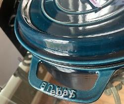 Staub La Mer 8.5 Quart Oval Cocotte #37 New In Box