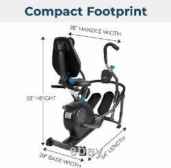 Teeter Free-Step Recumbent Cross Trainer & Elliptical- #1 Rated Dual Elliptical
