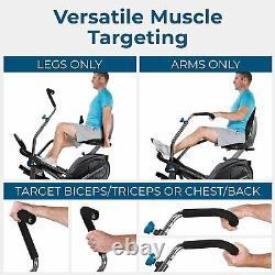 Teeter Free-Step Recumbent Cross Trainer Plus Elliptical LT1- FREE Shipping