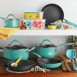 The Pioneer Woman Frontier Speckle 25-piece Cookware Set Check For Color