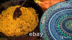 Uzbek 100%! KAZAN NAMANGAN Cast Iron Cauldron 12 L! Skimer free. Delivery 4-6 day