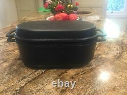 Very RARE Vintage Robert Welch Lauffer Oval Iron Pot/Casserole with Lid