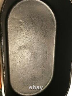 Vintage BSR CAST IRON DEEP FISH FRYER OVAL Bottom 3060 (Seasoned)- BEST OFFER