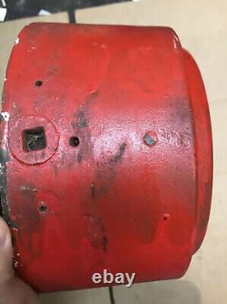 Vintage Cast Iron Gamewell Industrial Fire Alarm Telegraph Station Call Box Oval