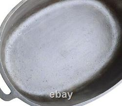 Vintage Griswold No 7 (2631/648) Cast Iron Oval Roaster Seasoned Cond