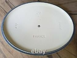 Vintage Le Creuset #29 Yellow Enamel Large Oval 5 Qt Cast Iron Dutch Oven Pot