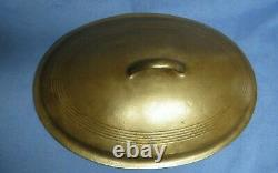 Wagner Ware Sidney O. No. 7 Cast Iron Oval Roaster with Lid