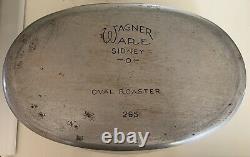 Wagnerware Drip Drop Baster Oval Roaster
