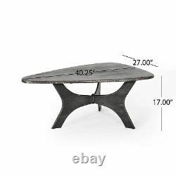 Zaylen Modern Industrial Guitar Pick Coffee Table